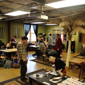 Classroom like a home